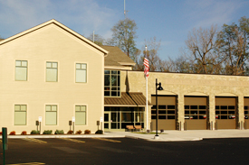 Bushnell's Basin Fire Station
